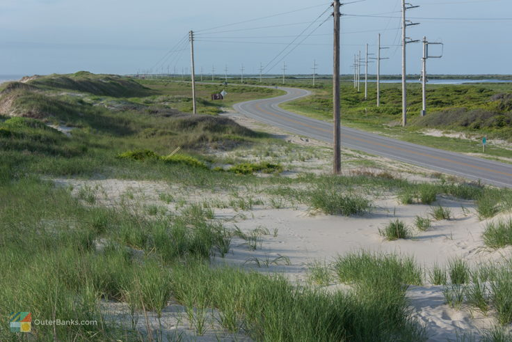 NC-12 in Pea Island Wildlife Refuge