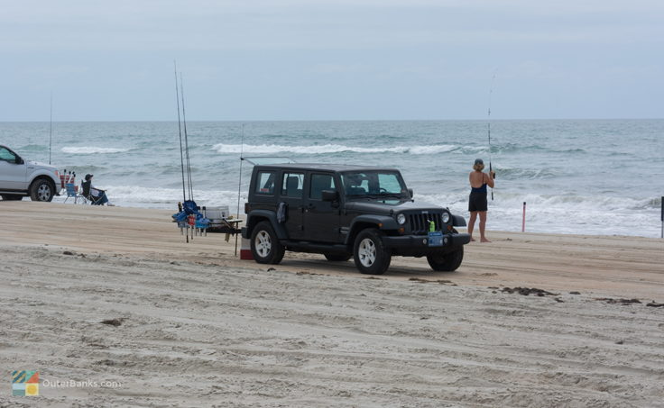 4x4 Beach Fishing at CHNS