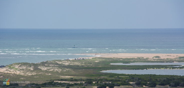 Cape Point from Cape Hatteras Lighthouse